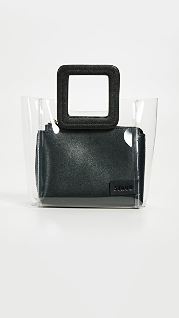STAUD Mini Shirley Bag - Black