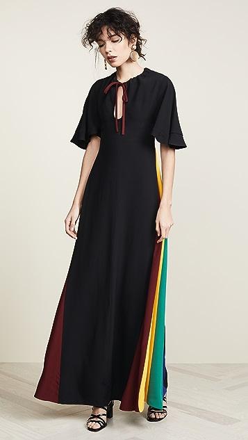 STAUD Платье Victorian