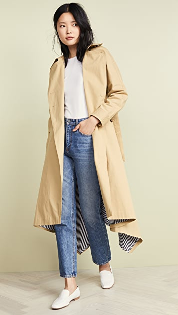 STAUD Tati Trench Coat