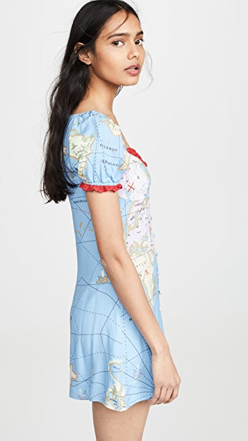 STAUD Платье Sur
