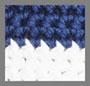 海军蓝奶油色条纹