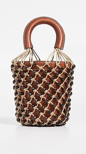 STAUD Beaded Moreau Bag