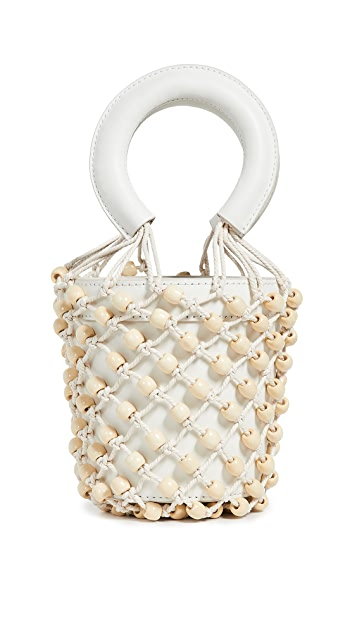 STAUD Mini Beaded Moreau Bag