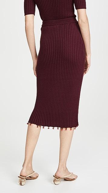 STAUD Costa Skirt