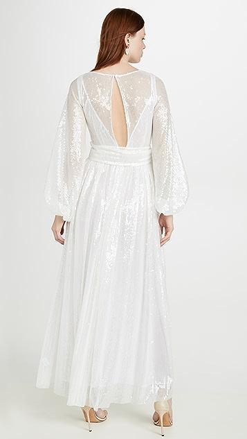 STAUD Sequin Dress
