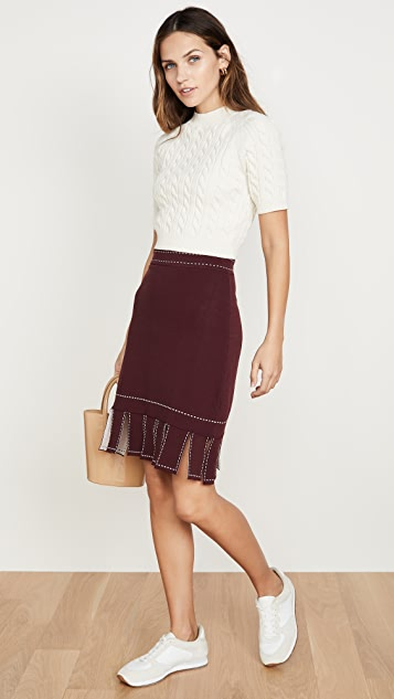 STAUD Fawn Skirt