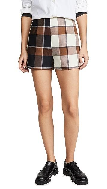 STAUD Leah Shorts