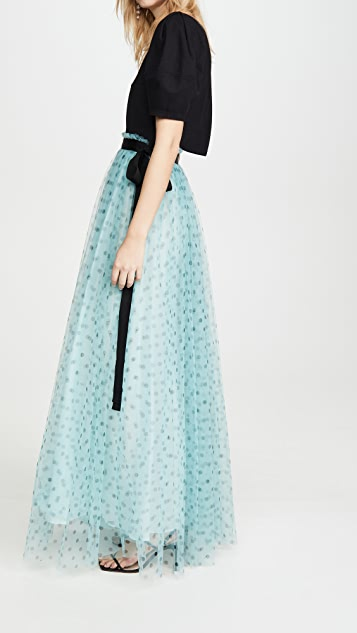STAUD Poppy 半身裙