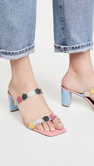 STAUD Frankie 凉鞋
