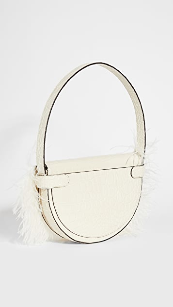 STAUD Amal Feathered Bag