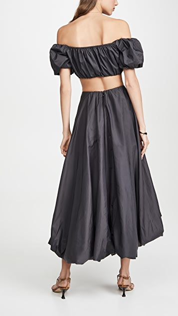 STAUD Mariposa 半身裙