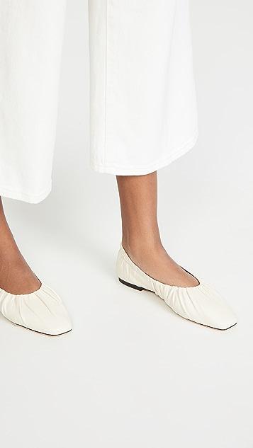 STAUD Tuli 芭蕾舞平底鞋