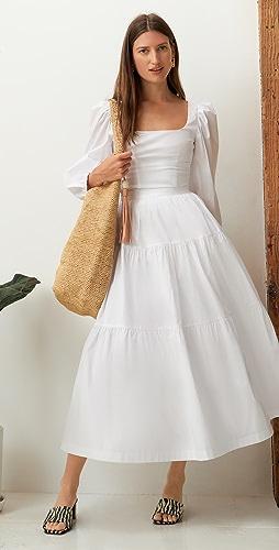 STAUD - Sea 半身裙