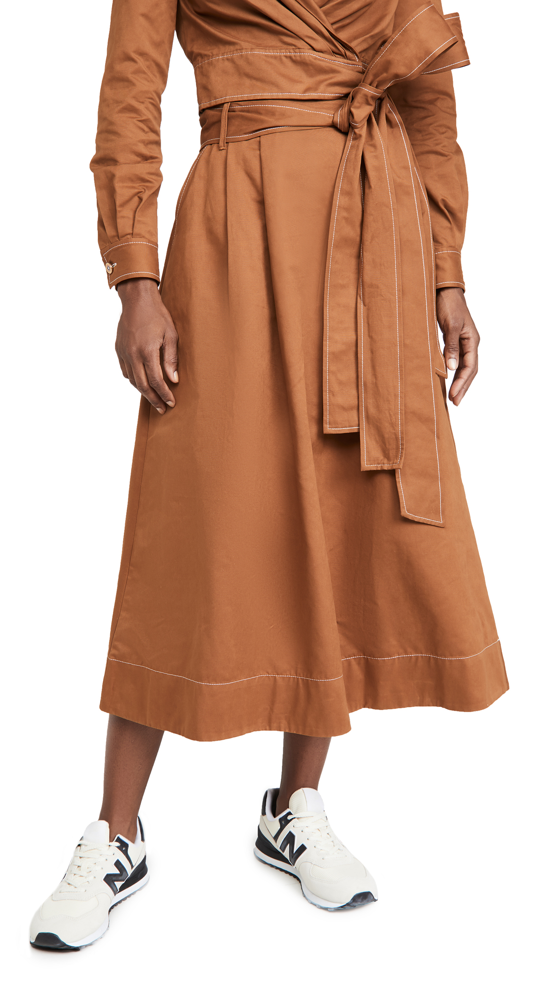 STAUD Snoop Skirt