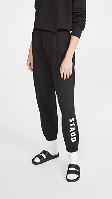 STAUD Logo Sweatpants