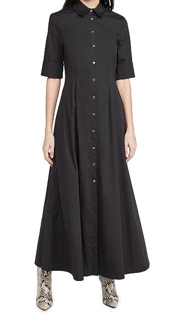 STAUD Joan Maxi Dress