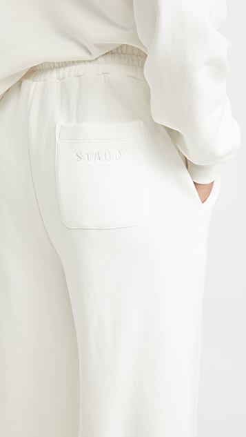 STAUD Wide Leg Sweatpants