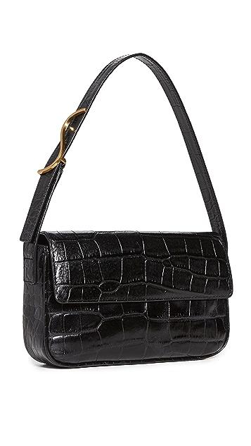 STAUD Tommy Bag Black Bag 10 Spring wardrobe essentials