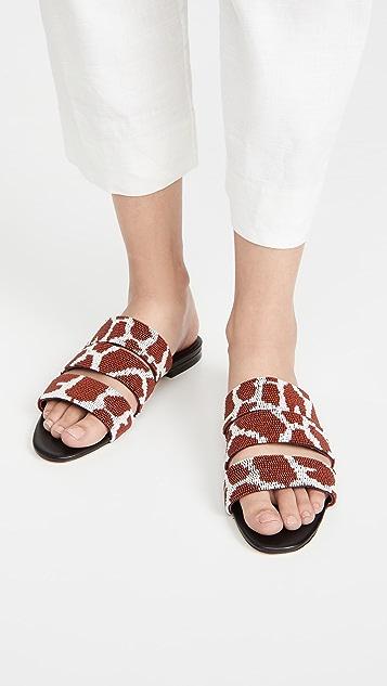 STAUD Mona 凉鞋
