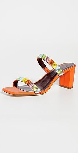 STAUD - Frankie Beaded Sandals