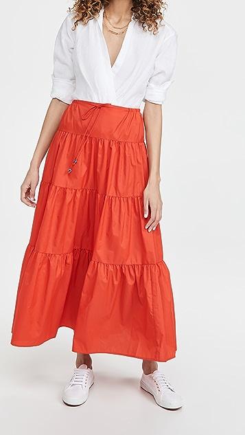 STAUD Lucca Skirt