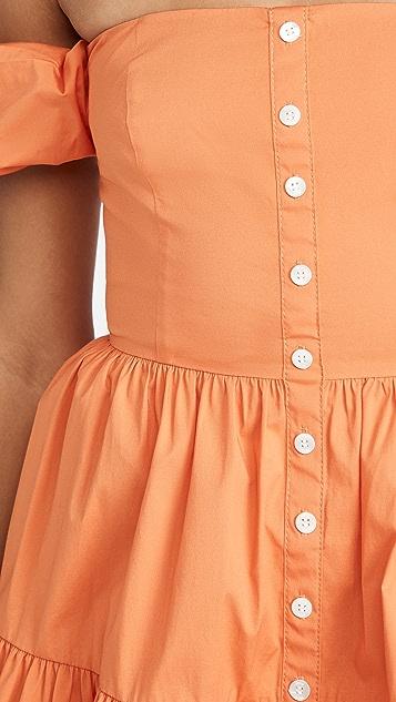 STAUD Mini Elio Dress
