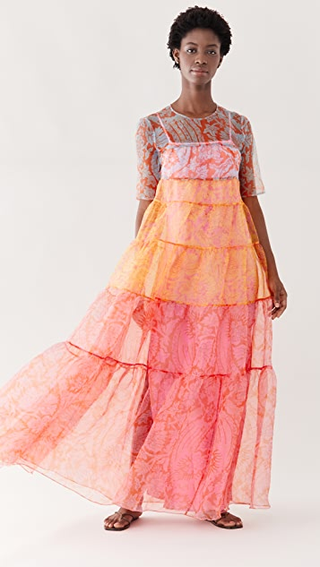 STAUD Hyacinth 连衣裙