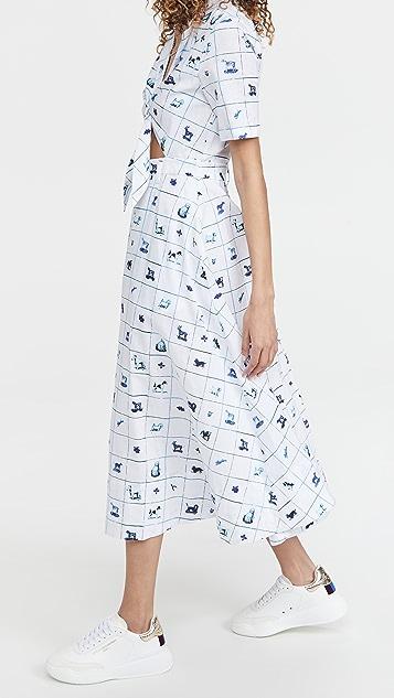 STAUD Giorgiana Dress