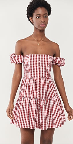 STAUD - Mini Elio Dress