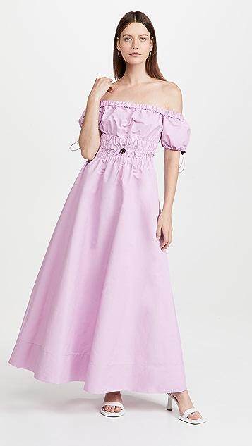 STAUD 藤蔓形连衣裙