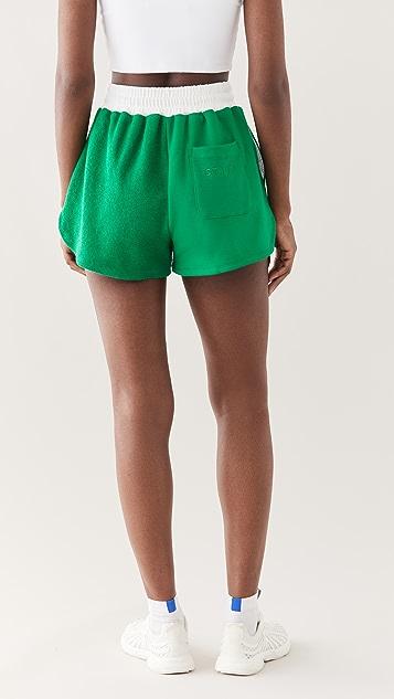 Staud 弹性带运动短裤