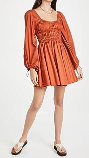STAUD Bow Dress