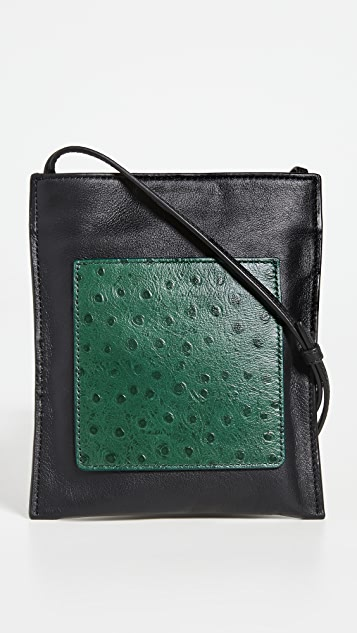 STAUD Eve Phone Crossbody Bag