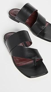 STAUD Fly Flat Sandals