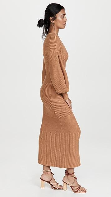 STAUD Carnation Dress