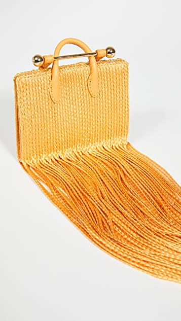 Strathberry Miniature Fringe Tote