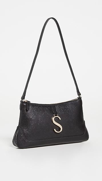 Strathberry Shoulder Baguette Bag