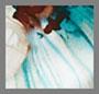 Floral Aquamarine