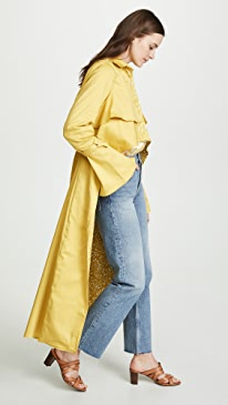 Sidney High Low Trench Coat