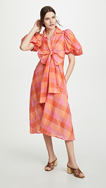 Silvia Tcherassi Perth Checkered Dress