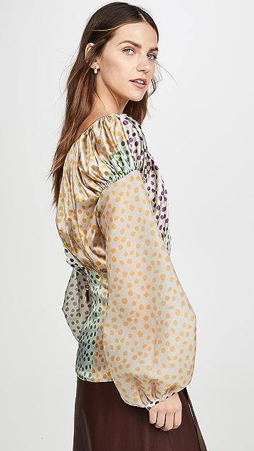 Silvia Tcherassi 灯笼袖女式衬衫
