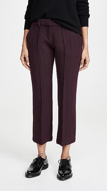 Silvia Tcherassi Straight Leg Pants