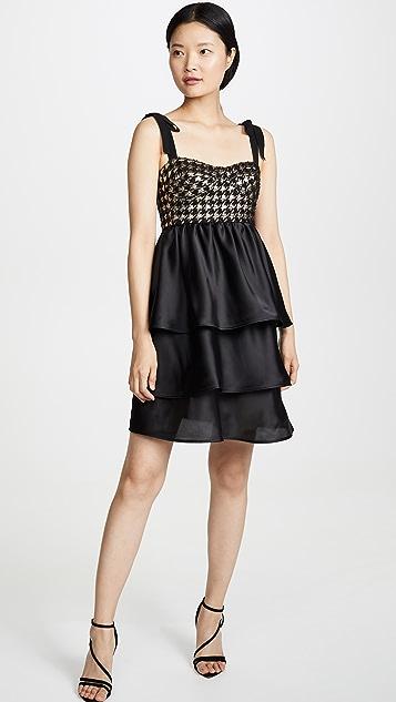 Silvia Tcherassi Check Bustier Dress