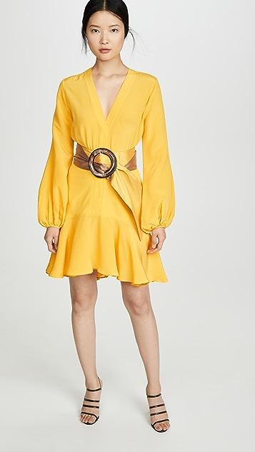 Silvia Tcherassi Платье с поясом Filis