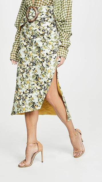 Silvia Tcherassi Fadua Skirt and Belt