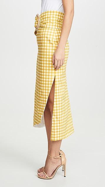 Silvia Tcherassi Fadua 半身裙和腰带