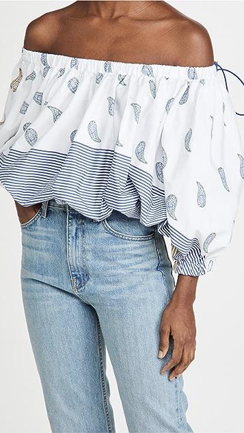 Silvia Tcherassi Mutiny 衬衫