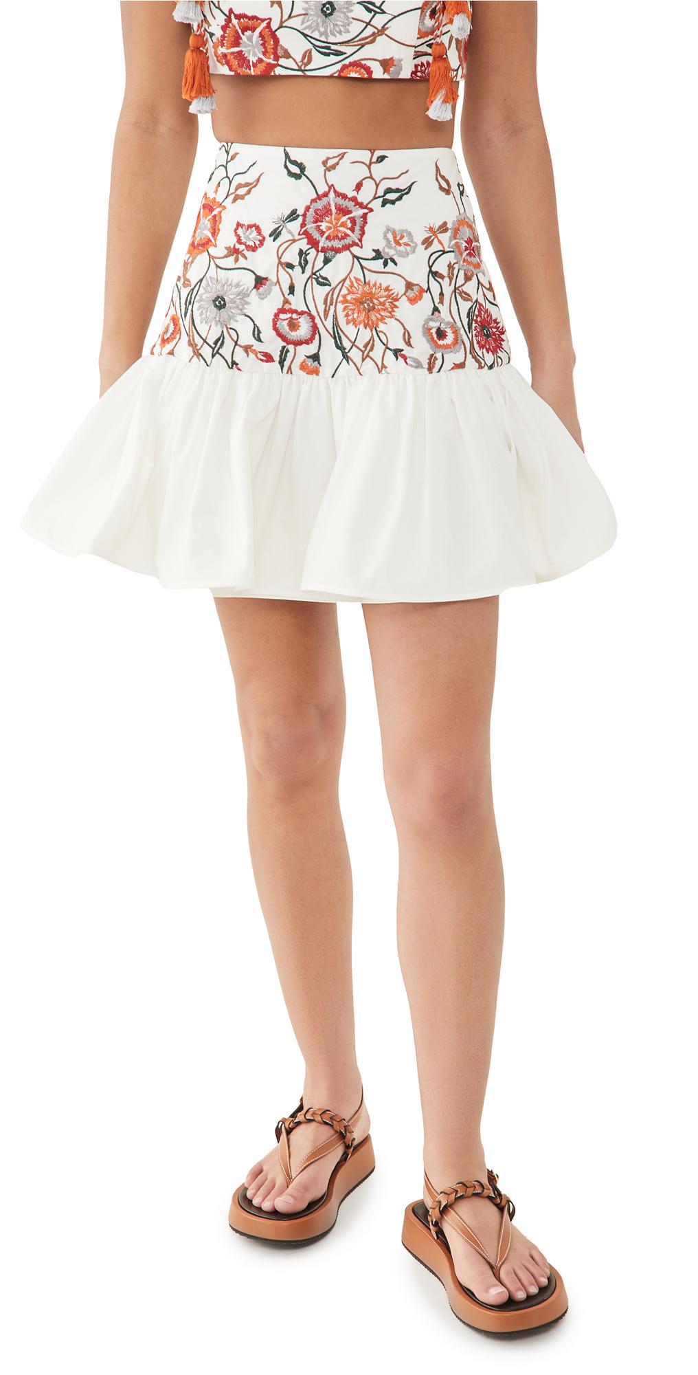Silvia Tcherassi Buccan Skirt