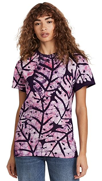 Studio 189 Big Leaf Cotton T Shirt