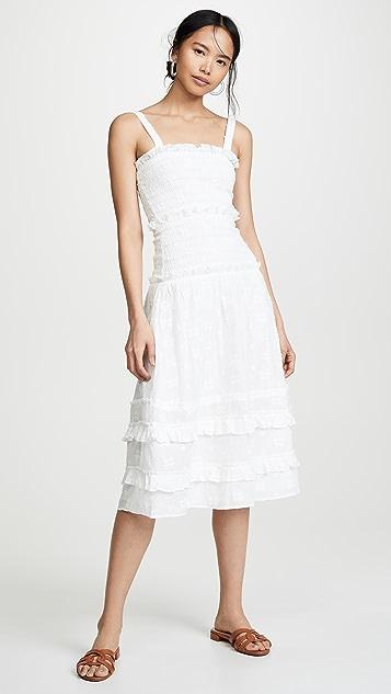Steele Datsy Midi Dress - Ivory